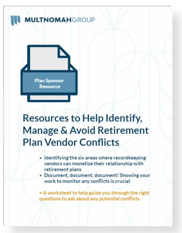 Vendor Conflicts-1