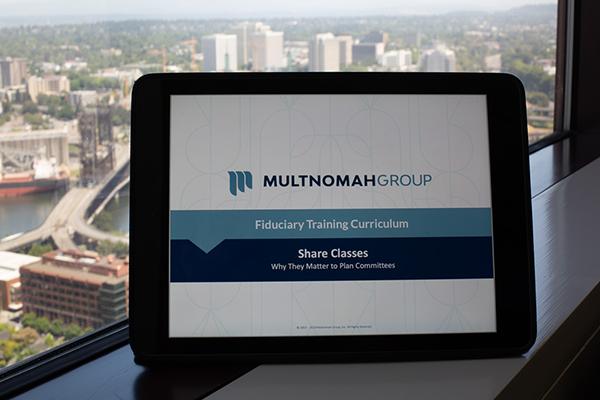 Multnomah Group Fiduciary Governance
