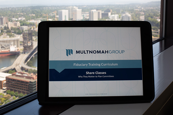 Multnomah Group Fiduciary Governance