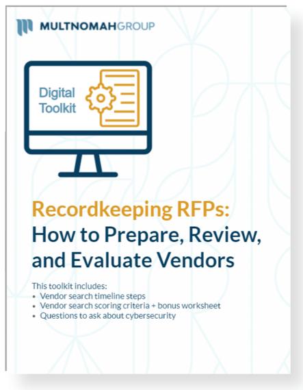 recordkeeping rfp